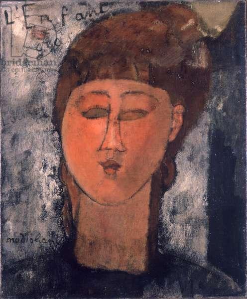 Enfant Gras, 1915 (oil on canvas)