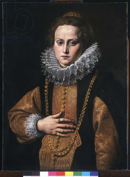 Portrait of a lady, 1613-16 (oil on canvas)
