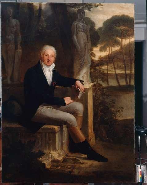 Portrait of Giovanni Battista Sommariva, 1813 (oil on canvas)