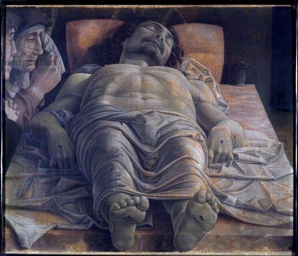 Lamentation over the dead Christ, c.1483 (tempera on canvas)