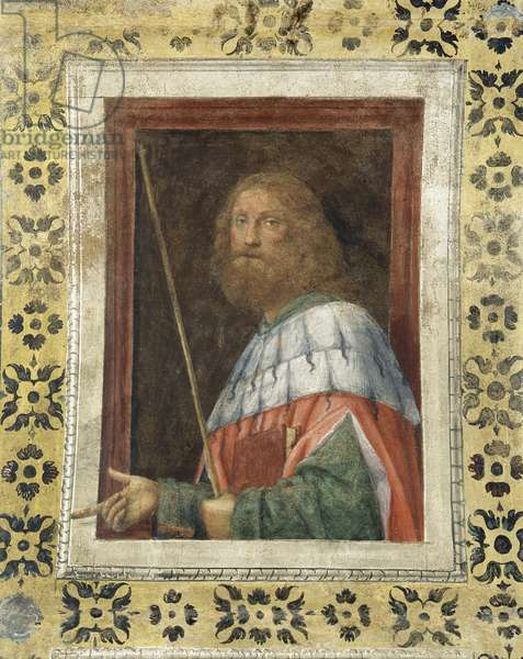 Solomon, 1520-21 (detached fresco mounted on canvas)