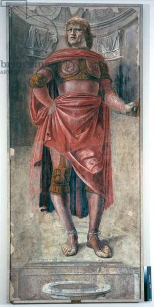 Man with a Two-Handed Sword, c.1486 (detached fresco mouted on canvas)