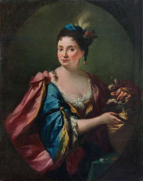 Portrait of Caterina Corbelini (?), c.1730 (oil on canvas)