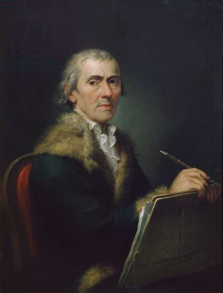 Self-portrait, 1803 (oil on canvas)