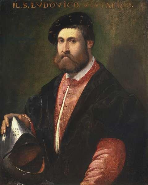 Portrait of Captain Ludovico Vistarini, 1535-41 (oil on panel)