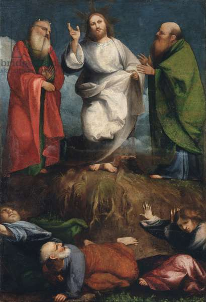 Transfiguration, 1518 (tempera on panel)
