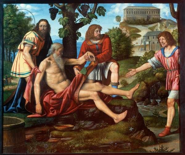 The Scorn of Cam, 1510-15 (oil on board)