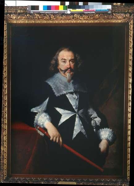 Portrait of a knight of Malta (Scipione Papafava?), c.1629 (oil on canvas)