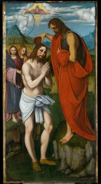 Baptism of Christ, c.1515 (oil on panel)