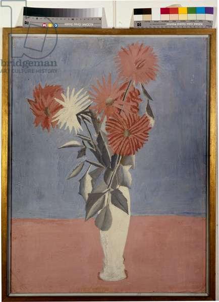 Flowers, 1916 (tempera on paper)
