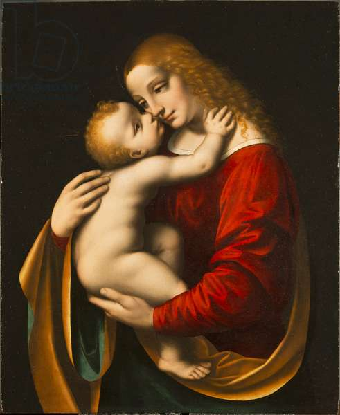 Madonna and Child, 1525 (oil on panel)