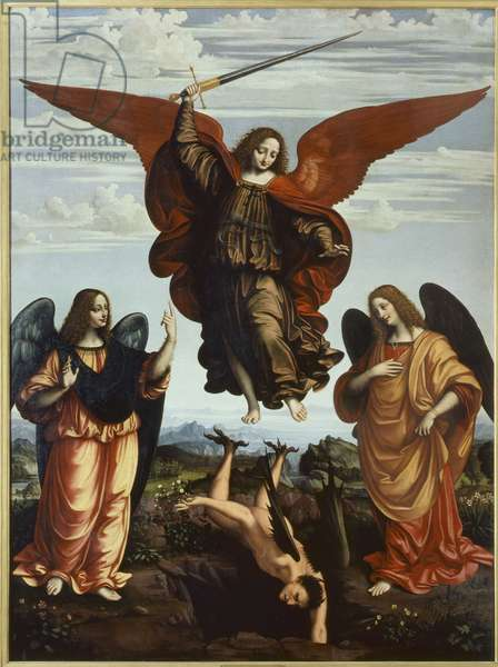 The Three Archangels, 1516 (oil on panel)