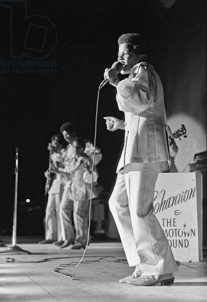 The Jackson family performing at Festival Gary in Gary, Indiana in 1969