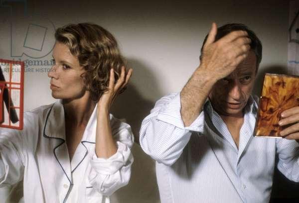 Nicole Garcia et Yves Montand