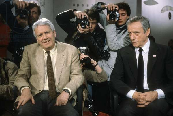 Jorge Semprun and Yves Montand