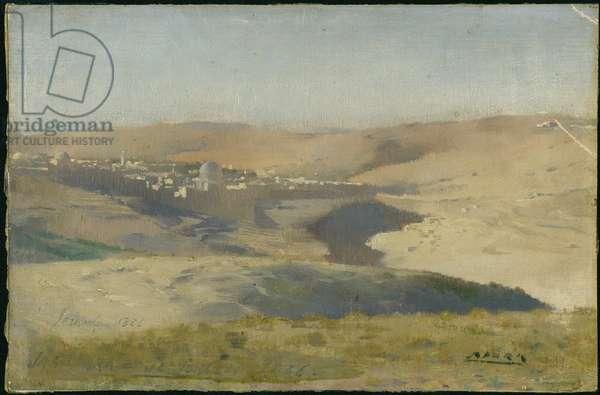 Jerusalem, 1886 (oil on canvas)