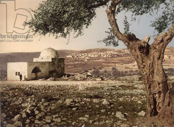 Tomb of Rachel, Bethlehem, c.1880-1900 (photochrom)