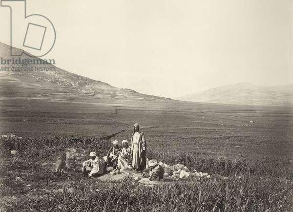 Jacob's Well, near Nablus, c.1866-67 (b/w photo)