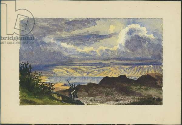 Dead Sea (w/c & pencil on paper)