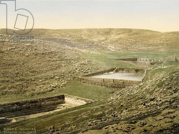 Solomon's Pools, c.1880-1900 (photochrom)
