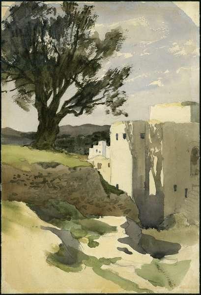 Hebron, 1897 (w/c on paper)