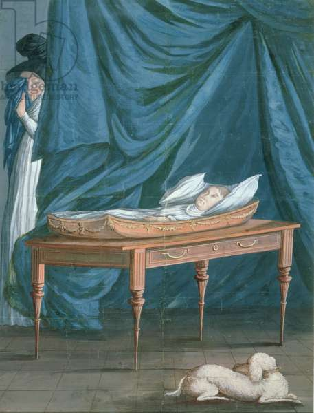 Death of William, c.1807 (w/c on paper) (see also 199344)