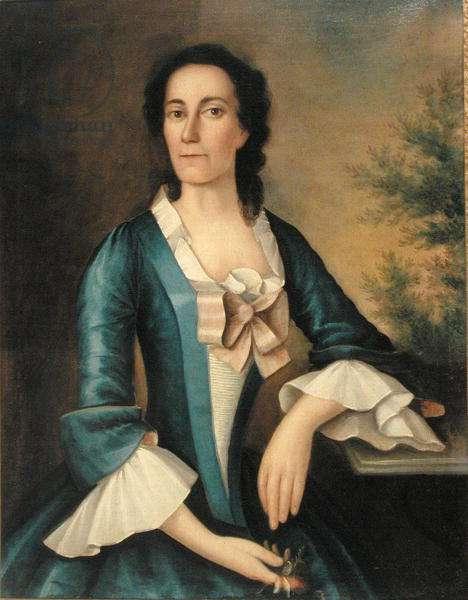 Portrait of Mrs Thomas Shippard (b.1718) c.1758 (oil on canvas)