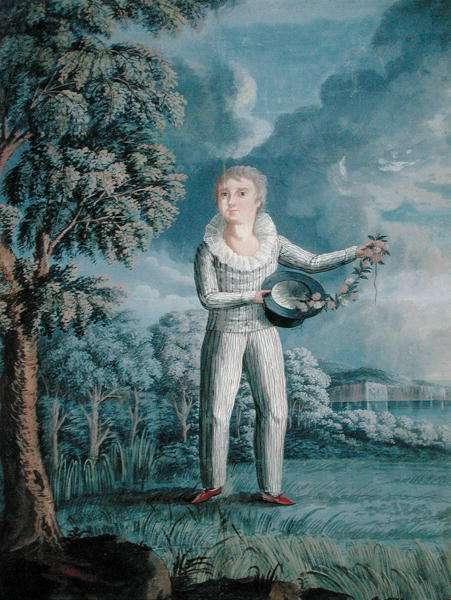 Portrait of William, c.1807 (w/c on paper) (see also 199343)