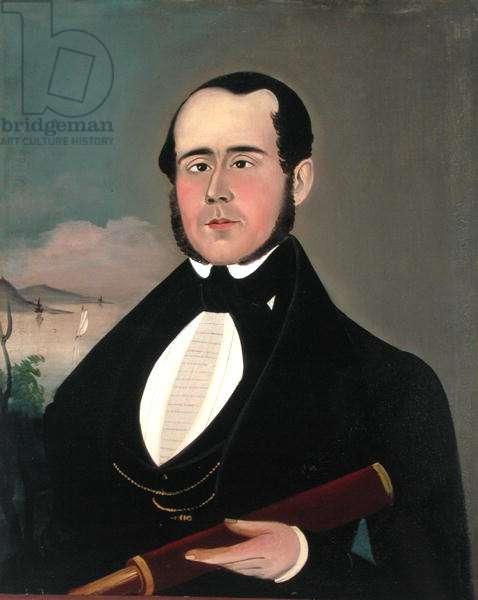 Portrait of Captain William B. Aiken (1814-84) 1845 (oil on canvas)