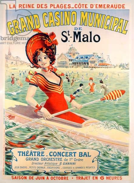 St. Malo poster, 1903 (colour litho)