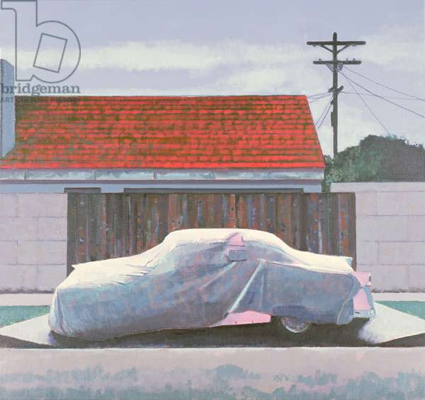 Ghost Car 2, Los Angeles, USA, 2002 (oil on linen)