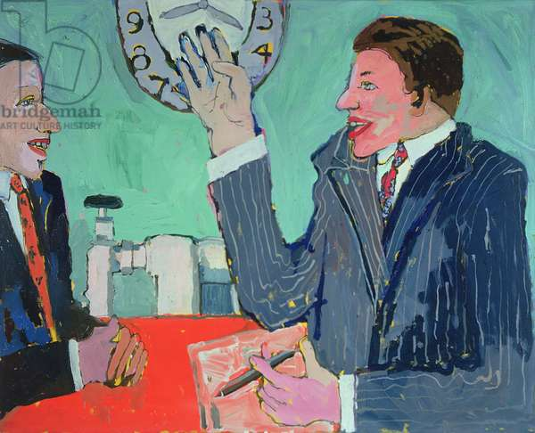 Timekeeping, 1979 (oil on canvas)