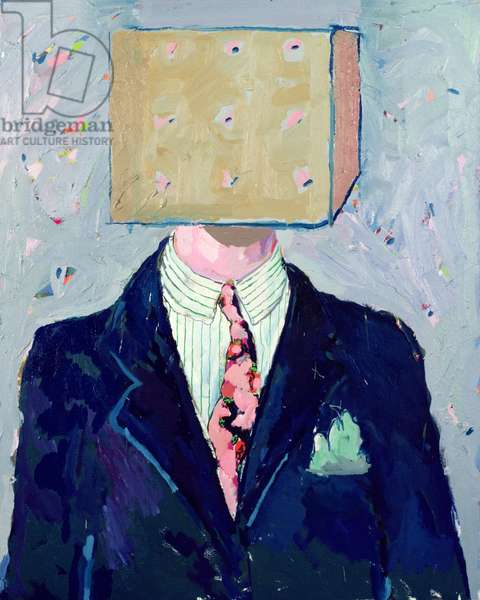 Head in the Box, 1979-81 (oil on canvas)
