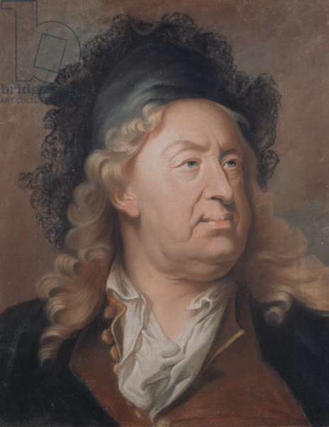 Portrait of Everhard Jabach  (pastel on paper)