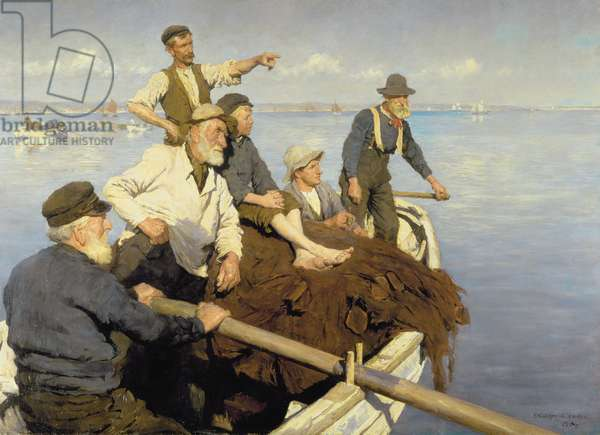 The Seine Boat, 1904 (oil on canvas)