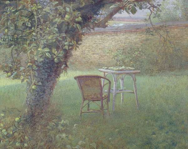T33856 The Apple Tree, 1984 (tempera on board)