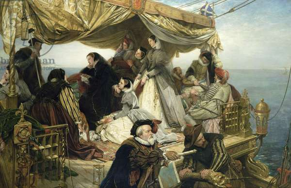 T33653 Mary Stuart's Farewell to France, 1862