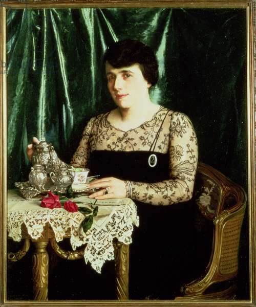 Portrait of Mrs. Rose Levy