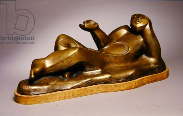 The Chosen, 1968 (bronze with gold patina)