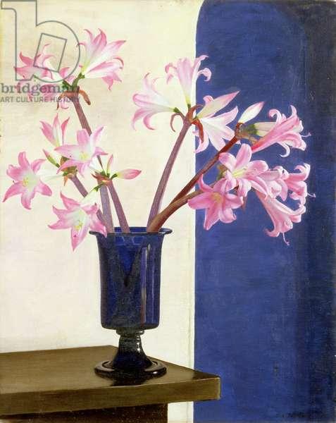 Belladonna Lilies, c.1924 (oil on canvas)