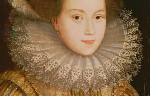 Portrait of a Lady, possibly Mary Queen of Scots (detail)