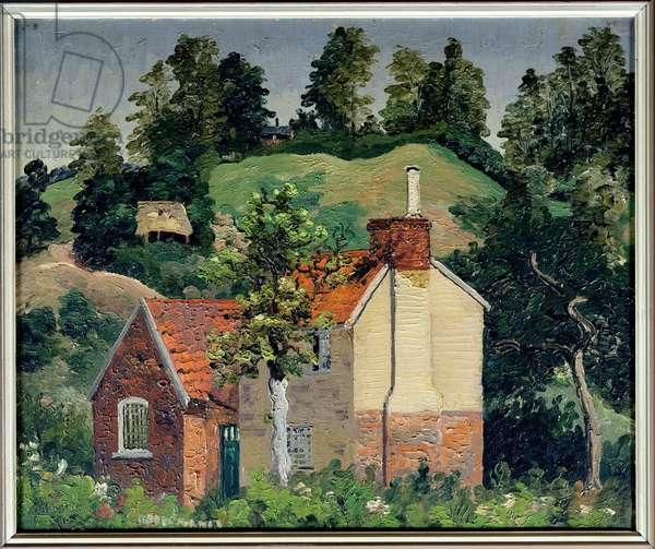 Kiln Farm, Higham, 1929 (oil on canvas)