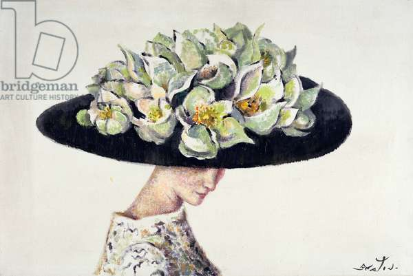 T30849 The Waterlily Hat, a design for 'My Fair Lady', c.1964