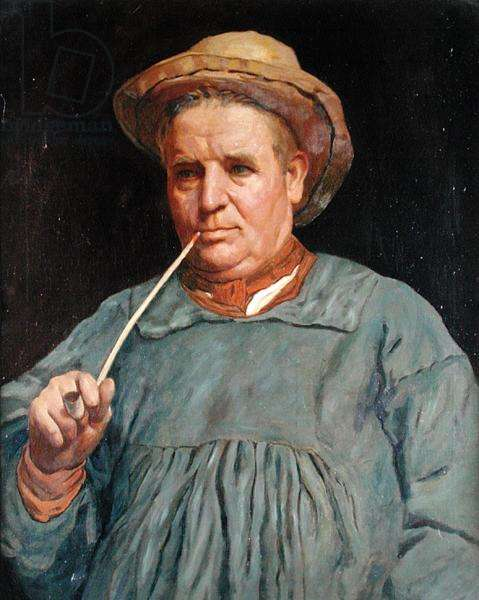 The Rustic, c.1893 (oil on canvas)