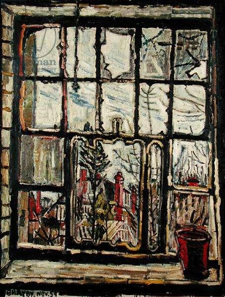 Blasted Windows, 1959 (oil on canvas)