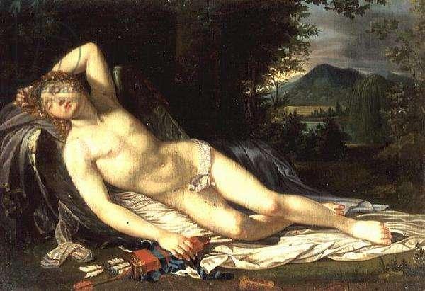 Cupid Reclining
