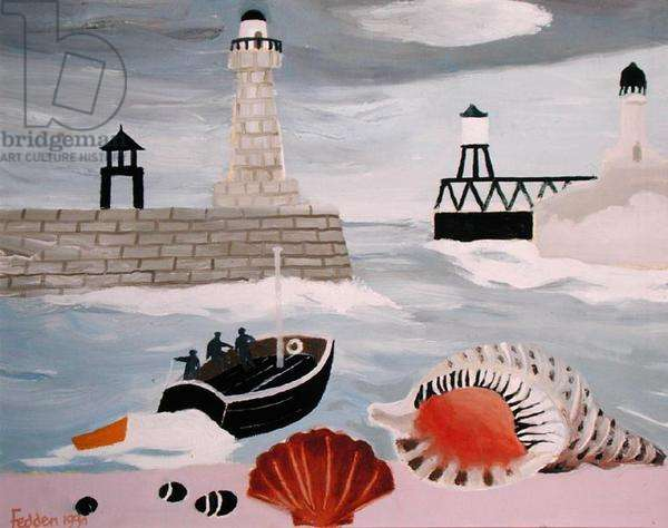 Whitby, 1990 (oil on canvas)