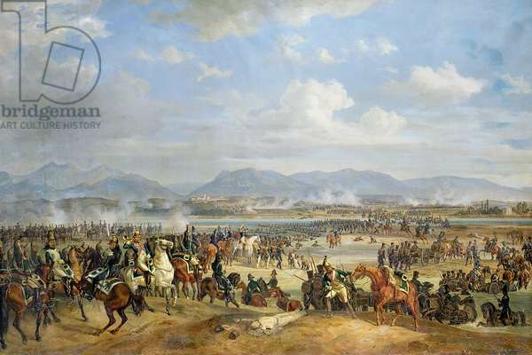 Prince Eugene de Beauharnais (1781-1824) at Ostrovno, 25 July, 1812 (oil on canvas)