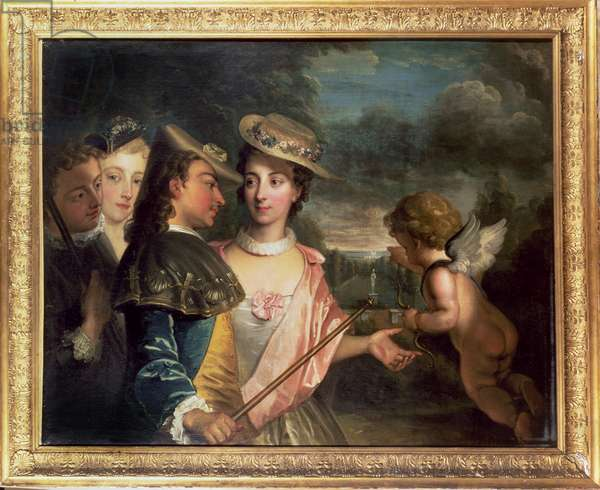 An Allegory of Courtship