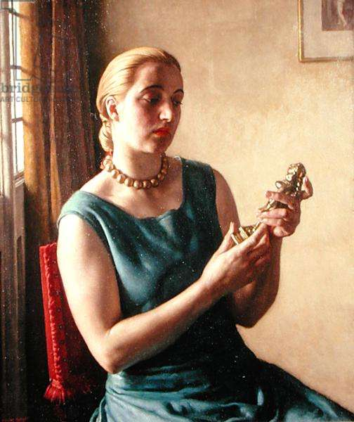 The Brass Goddess, 1929 (oil on canvas)